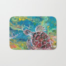 Sea Turtle Dream Bath Mat