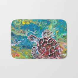 Sea Turtle Dream Bath Mat