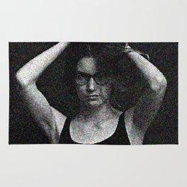 Antonina in black and white Rug