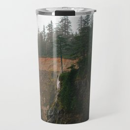 Windblown Waterfall // Oregon Travel Mug
