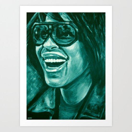 keep smiling option two! Art Print