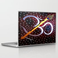 om Laptop & iPad Skins featuring Om by Priyanka Rastogi