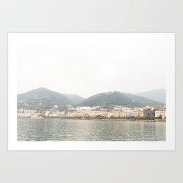Salerno, Amalfi Coast Art Print