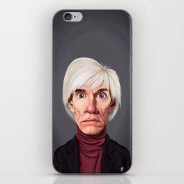 Celebrity Sunday ~ Andy Warhola iPhone Skin