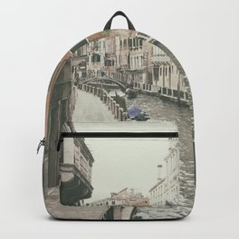 Venice canal, Italy Backpack