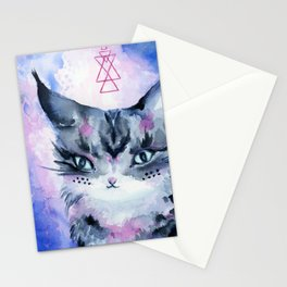 Lynx Cat : Magic Maker Stationery Cards