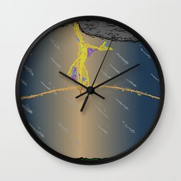 Key Wall Clock