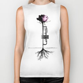 Rooted Sound III Biker Tank