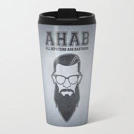 ALL HIPSTERS ARE BASTARDS - Funny (A.C.A.B) Parody Travel Mug
