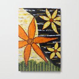 Flower Time Metal Print