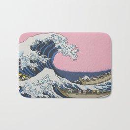 Sushi Waves Bath Mat