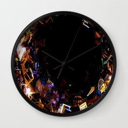 Curiouser and Curiouser! Wall Clock