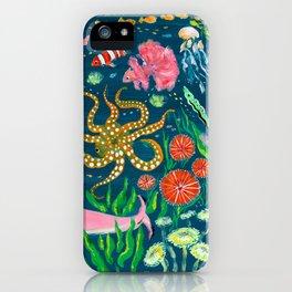 Pink Shark iPhone Case