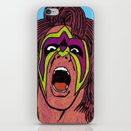ultimate warrior iPhone Skin