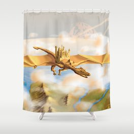 The City Of The Dragon Shower Curtain