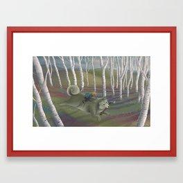 Ring and Snati-Snati Framed Art Print