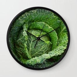 Nature's Fold Wall Clock