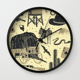 Mild West Wall Clock