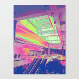Spectrum Escalation Canvas Print
