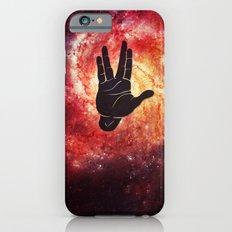 Spocks Hand Galaxy iPhone 6s Slim Case