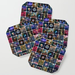 The Amazing Universe - Collection of Satellite Imagery Coaster