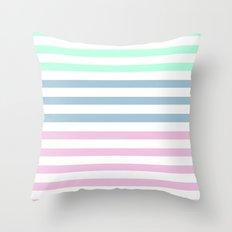 MULTI COLOR STRIPES Throw Pillow