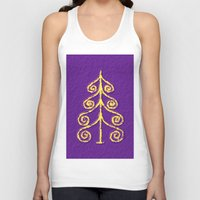 christmas tree Tank Tops featuring Christmas Tree* by Mr and Mrs Quirynen