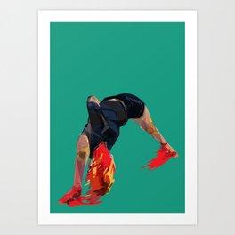 The Feeling Art Print