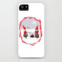 Snow and Stories iPhone Case