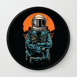 Rebel Astronout Wall Clock