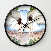 freedom Wall Clocks featuring Freedom! by Brooke Weeber