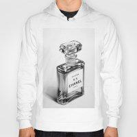 perfume Hoodies featuring Perfume Bottle by Ileana Hunter