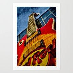 Hard Rock Cafe Vegas Art Print