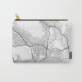 Minimal City Maps - Map Of Glendale, California, United States Carry-All Pouch