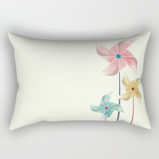 Pinwheels Rectangular Pillow
