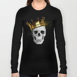 Royal Skull Long Sleeve T-shirt