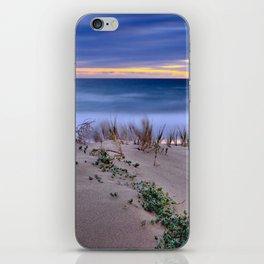 Windy sunset. Sea dreams.... iPhone Skin