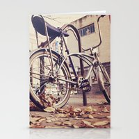 bicycle Stationery Cards featuring Bicycle by iD70my