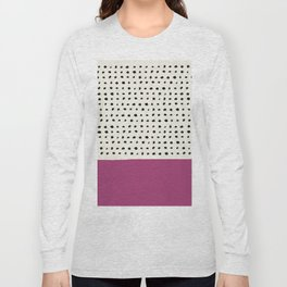 Raspberry x Dots Long Sleeve T-shirt