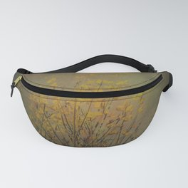 Vintage flowering bloom Fanny Pack