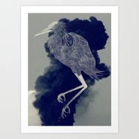 ®Egret - Simple Art Print