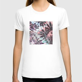 Tropical Adventure in Pink T-shirt