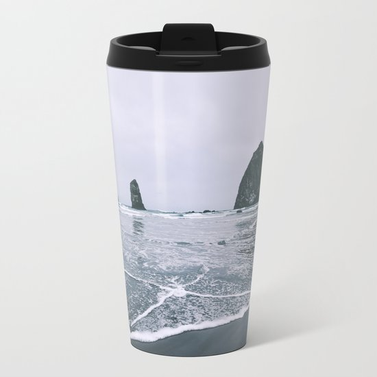 Cannon Beach II Metal Travel Mug