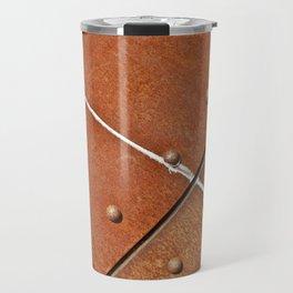 Rusty metal grunge Travel Mug
