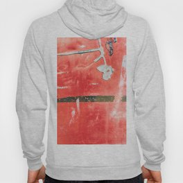 Etched Scratchings of a Mad Red Monk Hoody