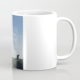 Kinderdijk Netherlands Travel Photography in Stock 6 x 10 Fine Art Photography Vintage Retro Coffee Mug