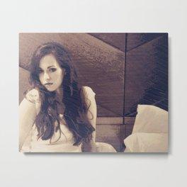 Isabella Jantz - actress & author Metal Print