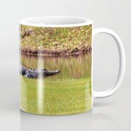 Alligator On Alert Coffee Mug