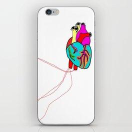 corazón de colores iPhone Skin