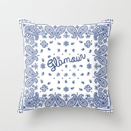bandana Throw Pillow